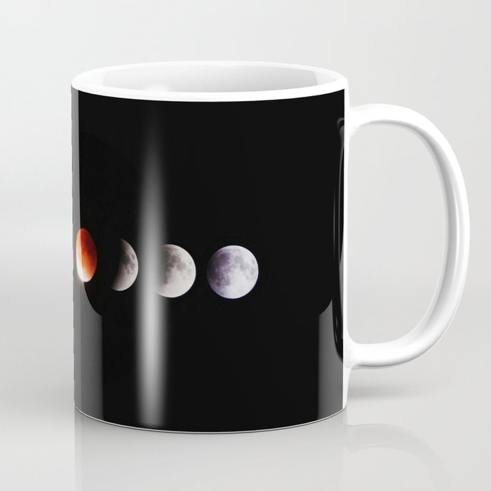 The Phases of the Moon (Color) Coffee Mug