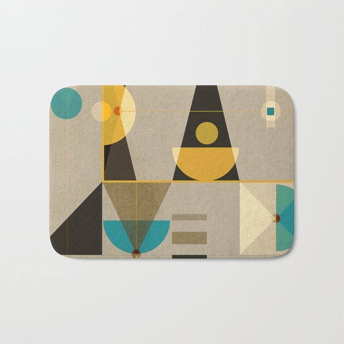 Geometric/Abstract 19 Bath Mat