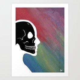 Melting Anatomy Art Print