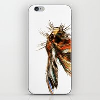 hare iPhone & iPod Skins featuring Hare by James Peart