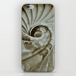 Sand stone spiral staircase 10 iPhone Skin
