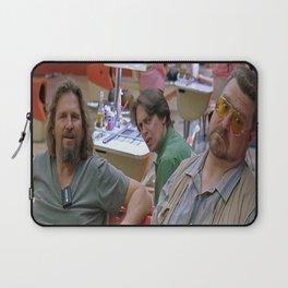 The Dude - Big Lebowski Movie Poster - Funny Movie Scene - Jesus Scene Print,Home, Art, Funny Gift Laptop Sleeve