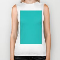 tiffany Biker Tanks featuring Tiffany Blue by List of colors
