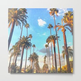 L.A. Morning Metal Print