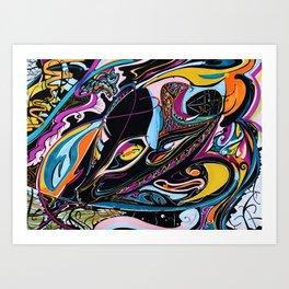 Beautiful Swirls Art Print