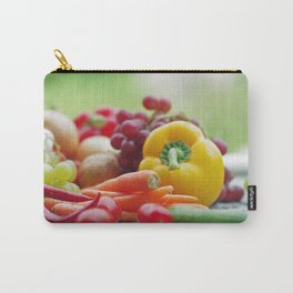 Fruits and Vegetables Variety in the kitchen Carry-All Pouch
