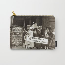Suffrage Envoy Photograph (1915) Carry-All Pouch
