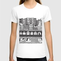 england T-shirts featuring Brighton, England by Caroline Rees