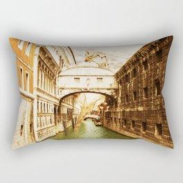 Giant Kitten in Venice (1) Rectangular Pillow