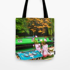 Colors On A Canal London Tote Bag