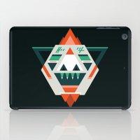 sasquatch iPad Cases featuring Sasquatch boss by Samuel Boucher