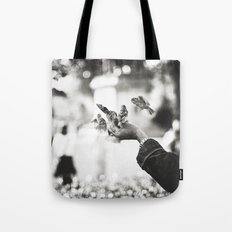 The man of birds Tote Bag
