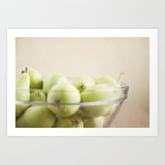 More pears Art Print