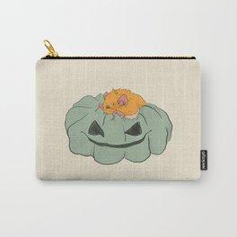 Little bat on a pumpkin Carry-All Pouch