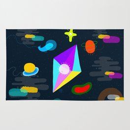 little things of universe Rug