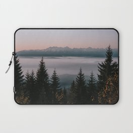 Faraway Mountains - Landscape and Nature Photography Laptop Sleeve