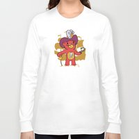captain hook Long Sleeve T-shirts featuring Captain Bear Hook by pepemaracas