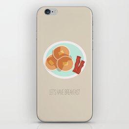 Pancake Breakfast iPhone Skin