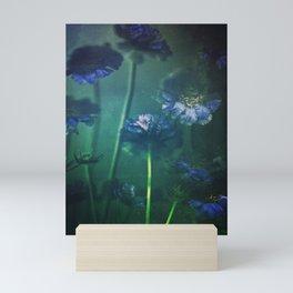 Scabious Blue Mini Art Print