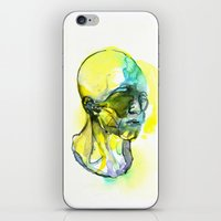 dna iPhone & iPod Skins featuring DNA by Chen Li