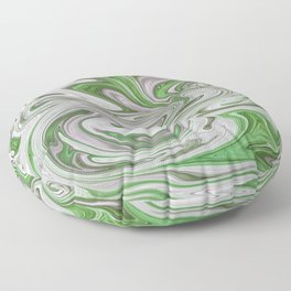 Marmalade Marble - Green Floor Pillow