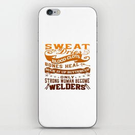 Welder Woman iPhone Skin