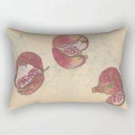 Pomegranates Rectangular Pillow