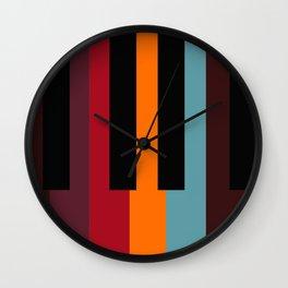 keys to happiness Wall Clock