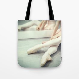 A Rest Between Rehearsals Tote Bag