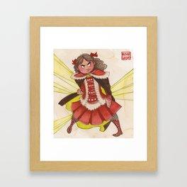 Sidony Featherfeet! Framed Art Print
