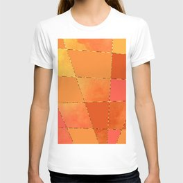 Orange Layers T-shirt