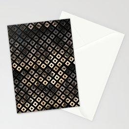 Golden Studs Stationery Cards
