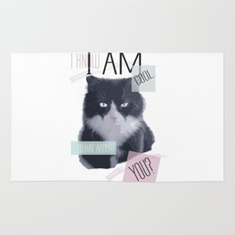 I know I am cool. What About You? Rug