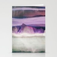 northern lights Stationery Cards featuring Northern Lights by SpaceFrogDesigns