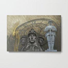 Landmarks 2 Metal Print
