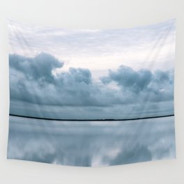 Epic Sky reflection in Iceland - Landscape Photography Wall Tapestry