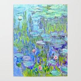 Water Lilies monet : Nympheas Poster
