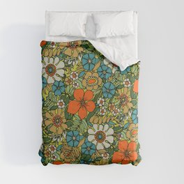 70s Plate Comforters