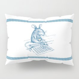 Cup O' Coffee NYC Style_rat Pillow Sham