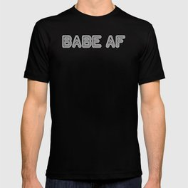 BABE AF White T-shirt