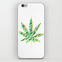 Cannabis Rainbow Design (92) iPhone Skin