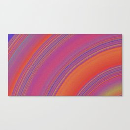 like the rings of saturn Canvas Print
