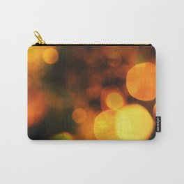Coloured Bokeh  Carry-All Pouch