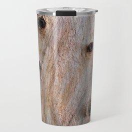Eucalyptus Tree Bark and Wood Texture 14 Travel Mug