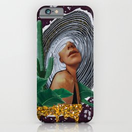 Pretty woman iPhone Case