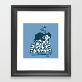 Grim Sleeper Framed Art Print