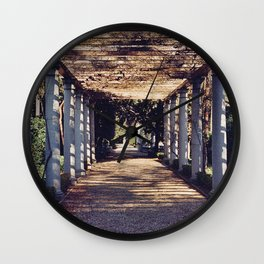 Florentine Garden - Florence, Italy Wall Clock