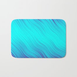 Stripes Wave Pattern 10 bt Bath Mat
