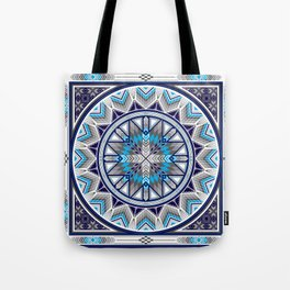 Sacred Places Blue Tote Bag