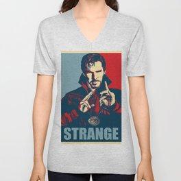 Obey Strange doctor Unisex V-Neck